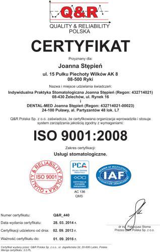 (certyfikat QR_440 Joanna St352p...)